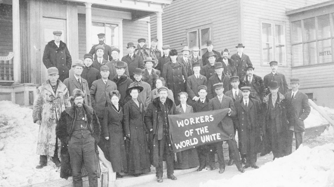 Prairie Trilogy - workers of the world unite