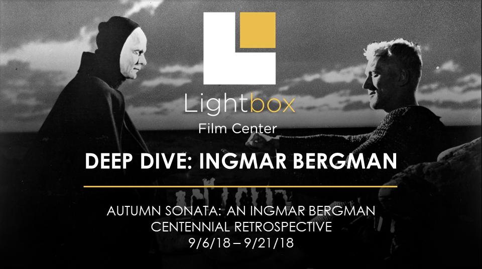 Jan Holmberg discusses Swedish director Ingmar Bergman in a Deep Dive at Lightbox Film Center