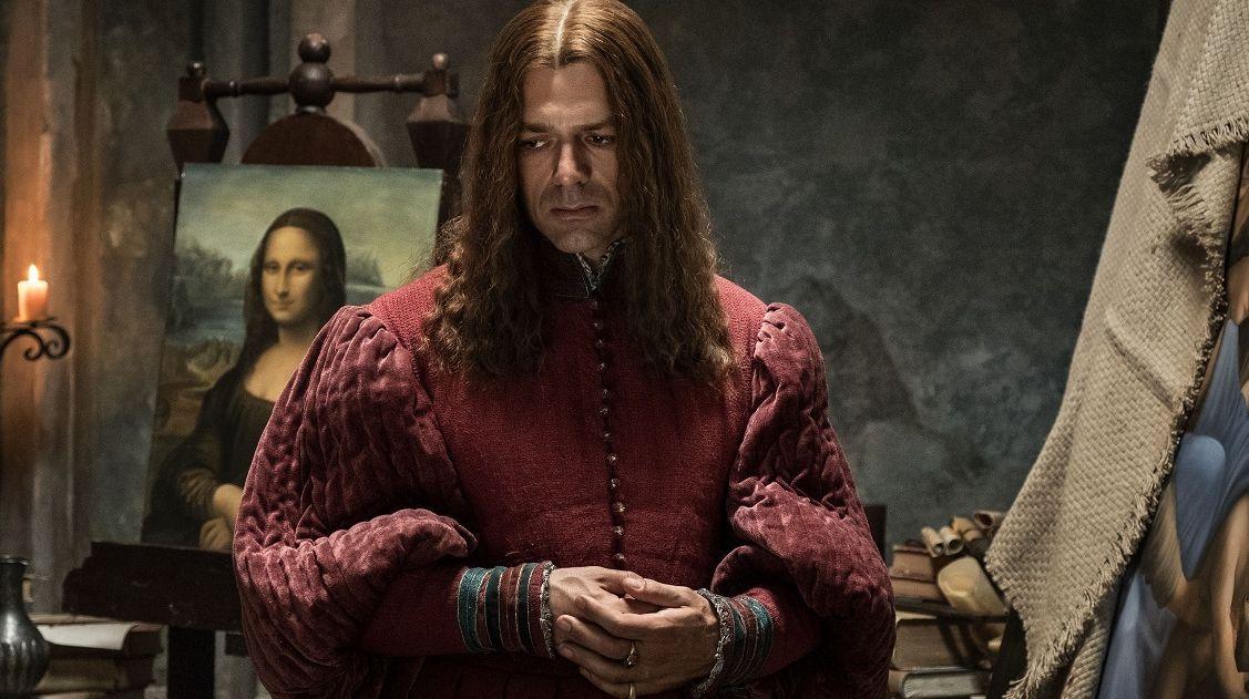 Inside Leonardo, director Jesus Garces Lambert, Dop Daniele CiprC,. The actor Luca Argentero plays Leonardo Da Vinci Rome, september 2018