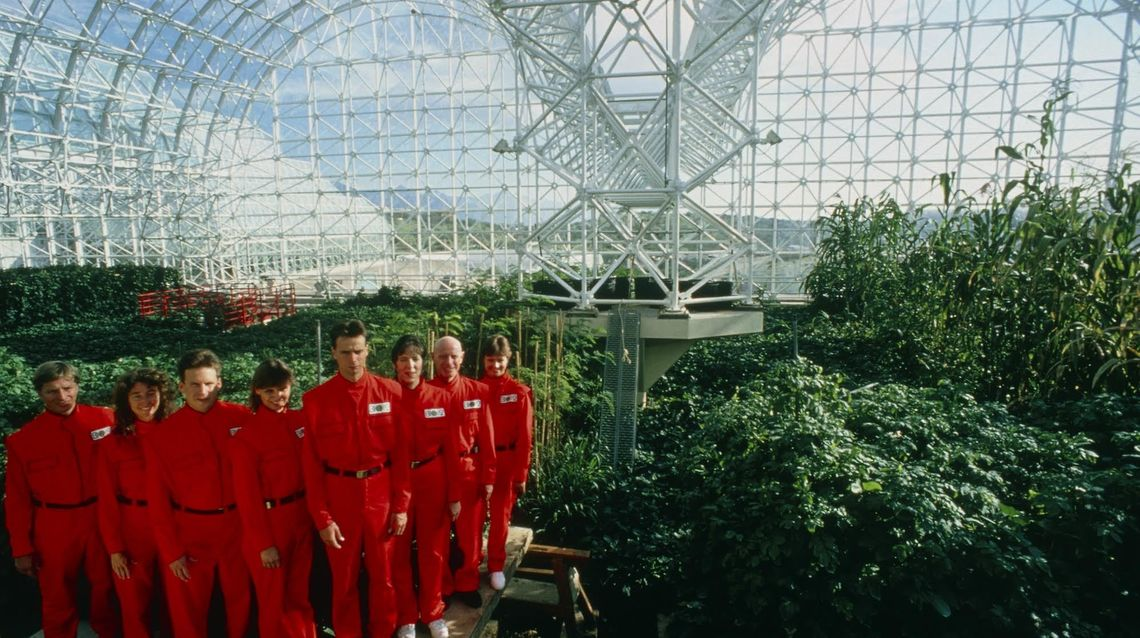 spaceship earth biosphere 2 promo shot courtesy of neon